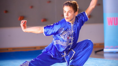 Wushu-workshop i Beijing - thumbnail