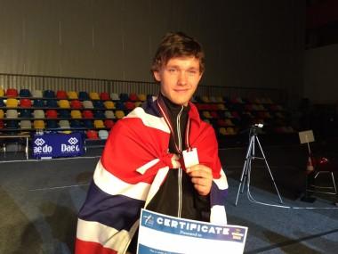 Historisk norsk taekwondo-medalje - thumbnail