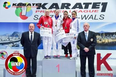 Karate-sølv til Gitte Brunstad - thumbnail