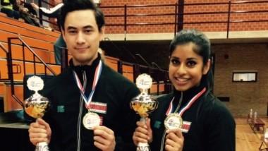 Tre gullmedaljer i mønster i Nederland - thumbnail