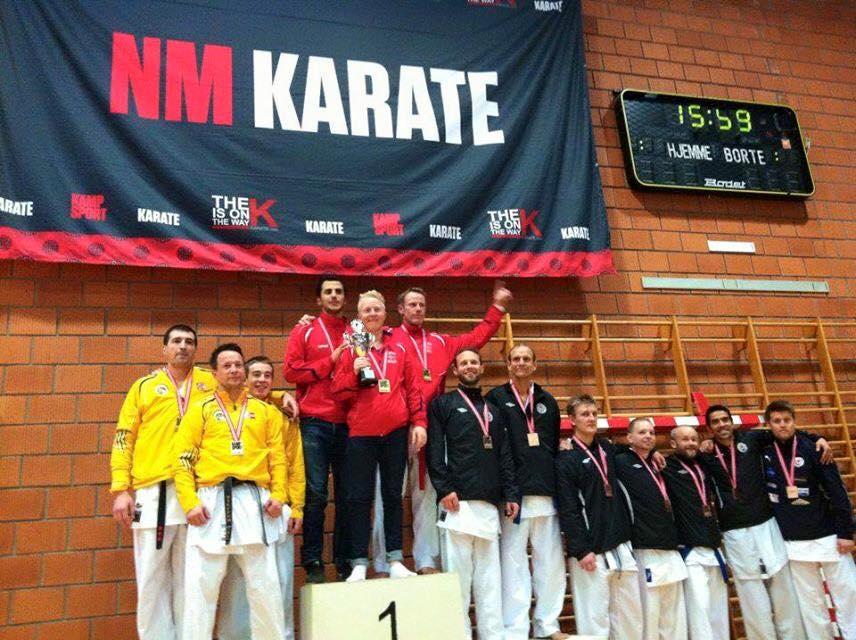 Resultater fra Karate NM for lag og NC individuelt - thumbnail