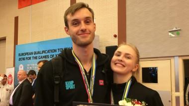 Bronsemedaljer til Marie og Richard i OL-Kvalik - thumbnail