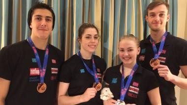 Fire bronsemedaljer til taekwondo-landslaget - thumbnail