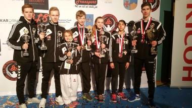 Karateutøvere imponerte i Danmark - thumbnail