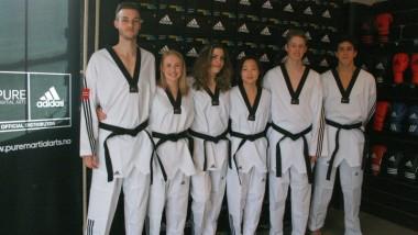 Påske-sparring i Manchester for taekwondo-landslaget - thumbnail