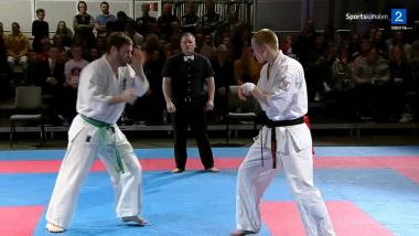 Karate NM 2016 - Plutselig var Stian på riksdekkende TV - thumbnail