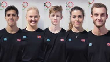 Disse fem skal til EM i taekwondo - thumbnail