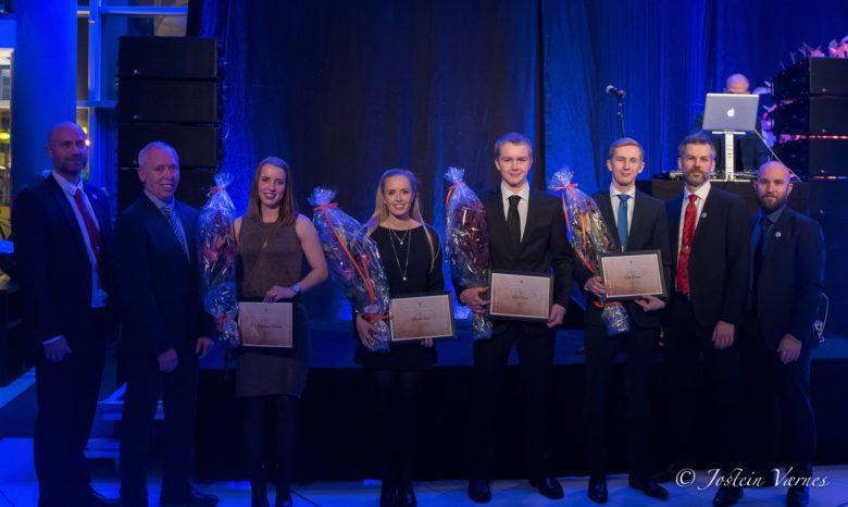 Årets beste utøvere hedres med egen pris. Foto: Jostein Værnes