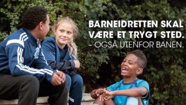 Barneidrett skal være trygt – også utenfor arenaen - thumbnail