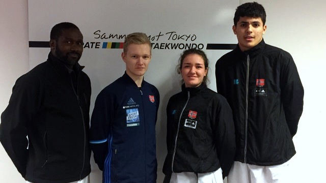 Rekordstort karatestevne i Paris - thumbnail