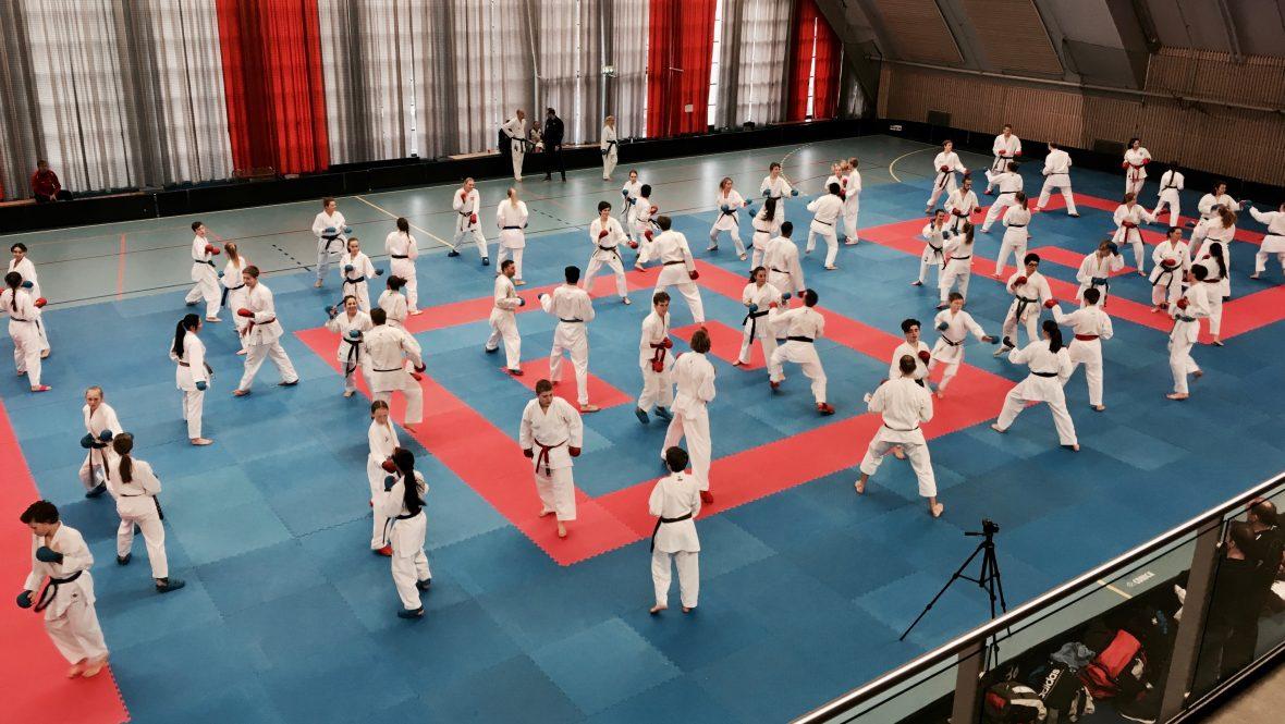 Vellykket karate kick off i Oslo - thumbnail