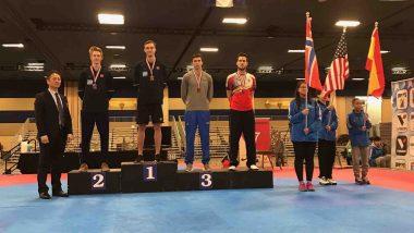 Norsk taekwondosuksess i USA - thumbnail