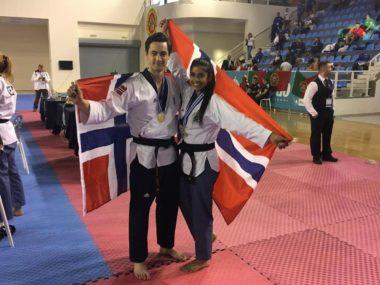 Historiske gullmedaljer i EM taekwondo mønster - thumbnail