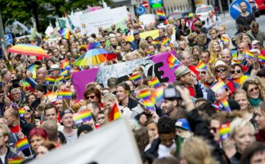 Klart for Oslo Pride Parade - thumbnail