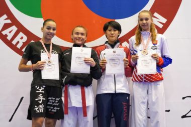 Sterk innsats under Karate Youth Cup - thumbnail