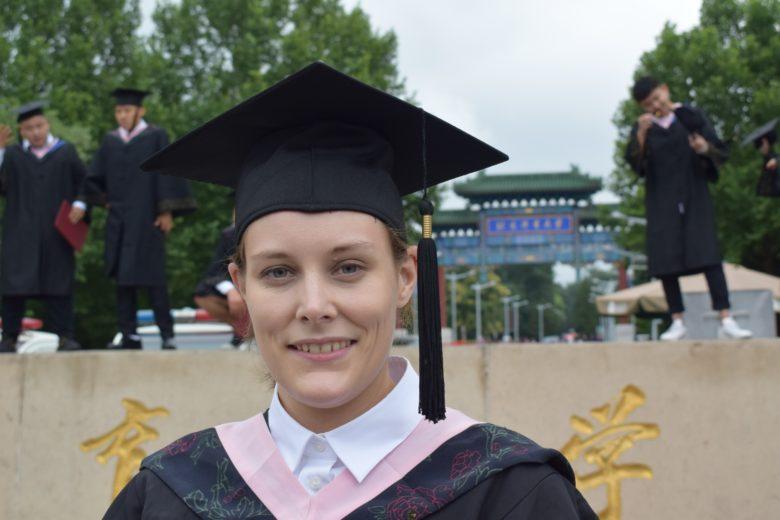 Sofie Nielsen får kinesisk stipend til mastergrad i wushu - thumbnail