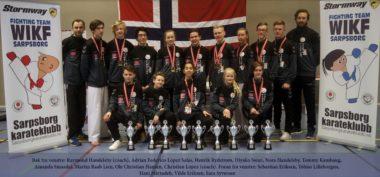 Storslagen karate-samling i Sarpsborg - thumbnail