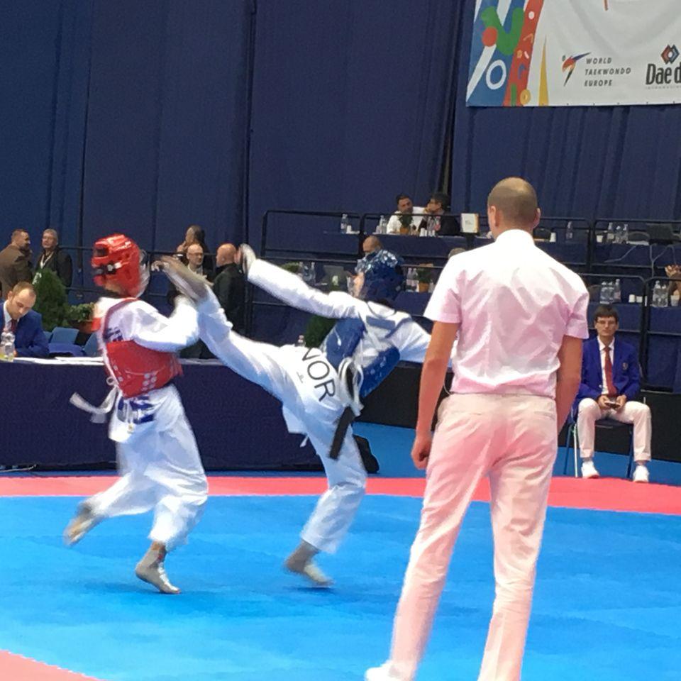 Taekwondo-bronse til Norge i kadett-EM - thumbnail
