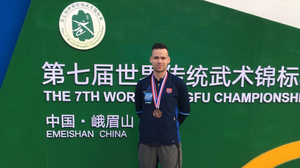 To medaljer i kung fu VM i Kina - thumbnail