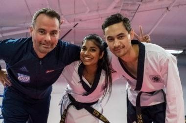 Sterk sesongstart med 2 gull i taekwondo mønster - thumbnail