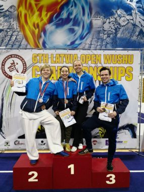 Sterke prestasjoner i Latvia Open wushu - thumbnail