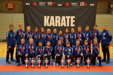 Sarpsborg Karate Klubb ble beste klubb på karate-NM - thumbnail