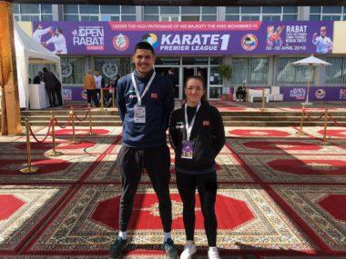 Karate-utøvere deltok på Premier League stevne i Marokko forrige helg - thumbnail