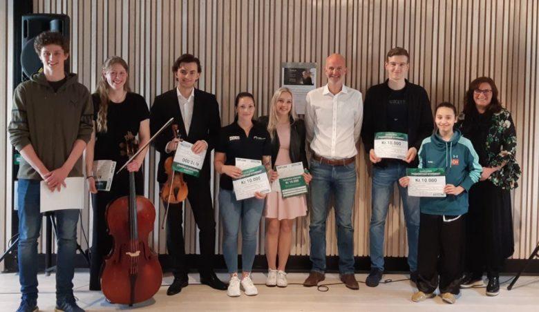 Vinnerne av Franzefoss-stipendet og Franzefoss-fondet - thumbnail