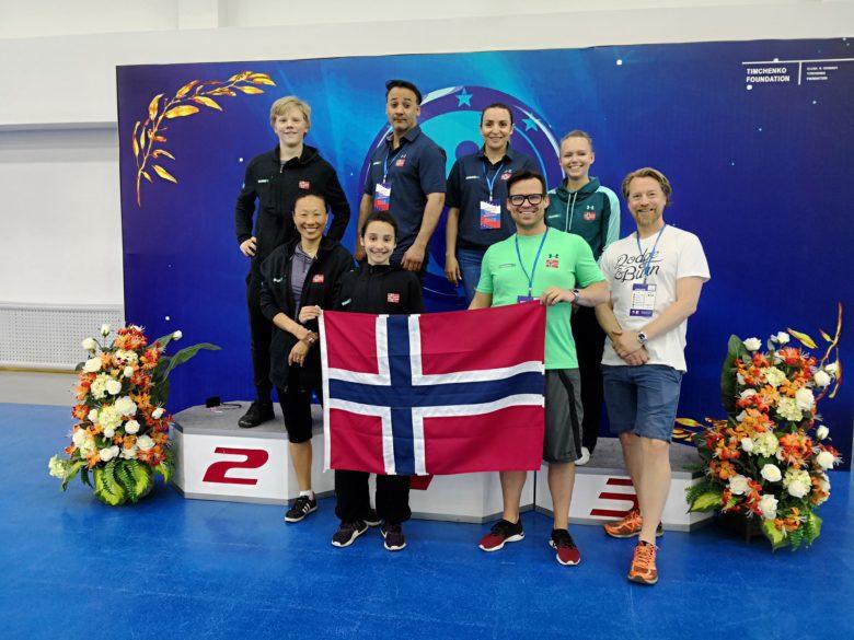 Norske debutanter i det europeiske mesterskapet i wushu - thumbnail