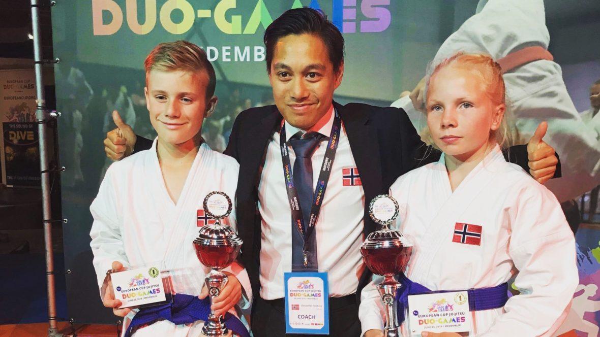 Gull til Norge i European Cup Ju jitsu Duo Games i helgen - thumbnail