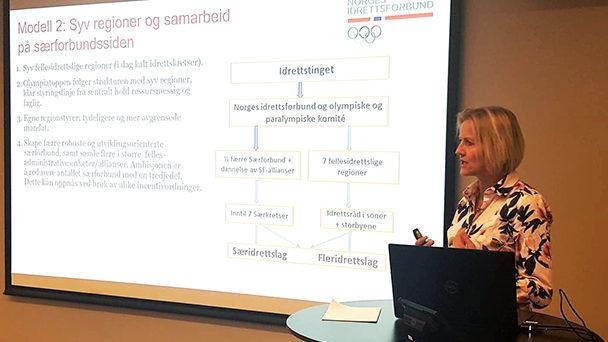 Tre alternative modeller for fremtidig organisering av norsk idrett - thumbnail