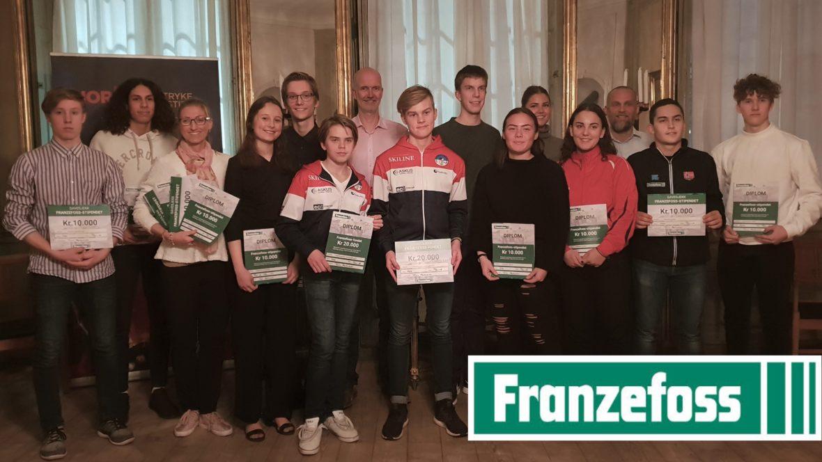 Annika Sælid mottar Franzefoss-stipendet - thumbnail