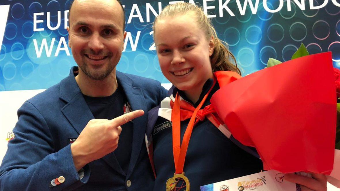 Randi tok gull i U21-EM 2018 - thumbnail