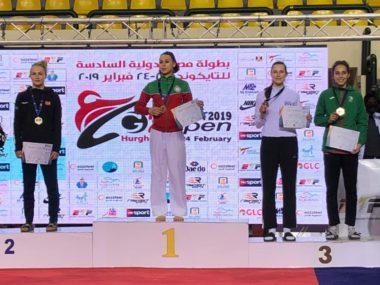 Tre norske taekwondomedaljer i Egypt - thumbnail