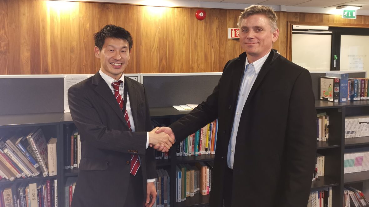 Kendo-EM 2020 på besøk hos den japanske ambassade - thumbnail