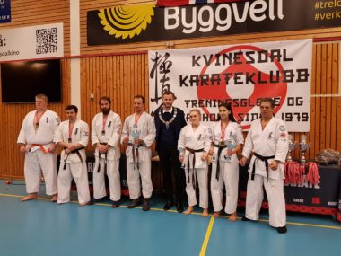 Nye Norgesmestre i fullkontakt karate - thumbnail