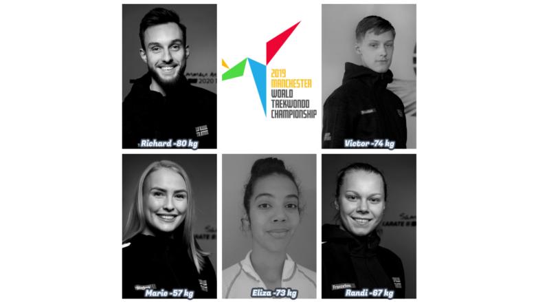 VM-laget i taekwondo er klart - thumbnail