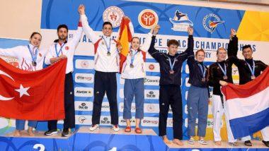 Debuterte i EM - tok medalje i beach taekwondo - thumbnail