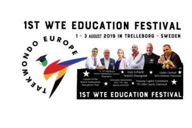 World Taekwondo Europe inviterer til utdanningsfestival - thumbnail