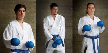 Norske karate-utøvere til OL-anlegget i Japan for å konkurrere - thumbnail