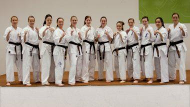Fullkontakt karate: Bli med på treningssamling for kvinner - thumbnail