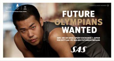 SAS Future Olympians: Fortsatt mulighet for å trene karate i Tokyo - thumbnail