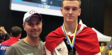 Sølv til Milos Pilipovic (18) i U21-EM i taekwondo - thumbnail