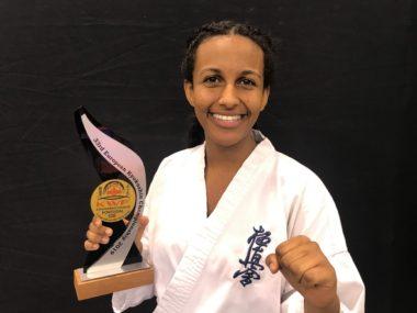 Fullkontakt karate: Sølv i kyokushin-EM til Rahua (16) fra Lørenskog - thumbnail