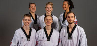 Det norske taekwondo-landslaget til ekstra-EM i Italia - thumbnail