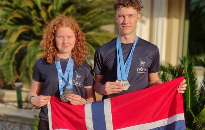 Tre sølvmedaljer til Norge i World Taekwondo Beach Championships - thumbnail