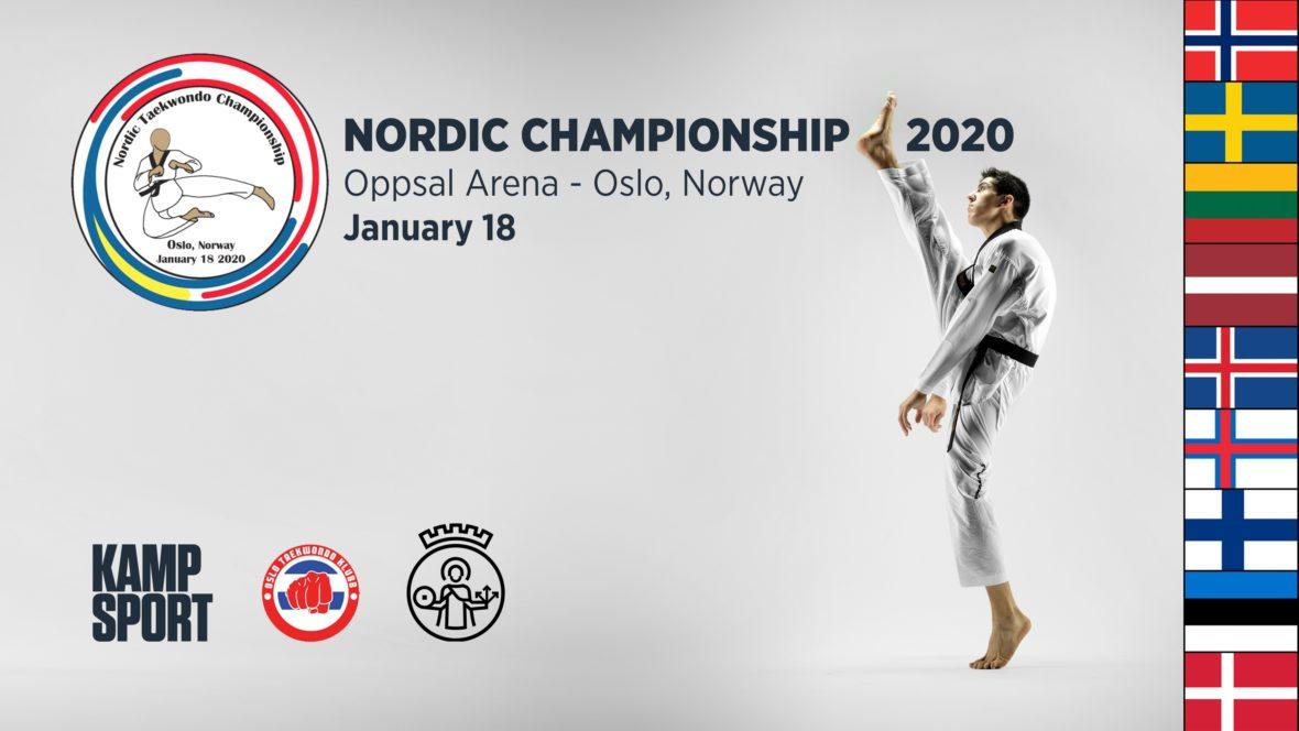 Velkommen til nordisk mesterskap i taekwondo 2020! - thumbnail
