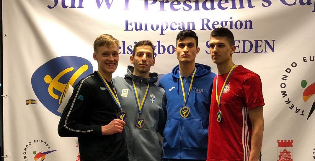 Sterk bronsemedalje til Victor Asp i Presidents Cup - thumbnail