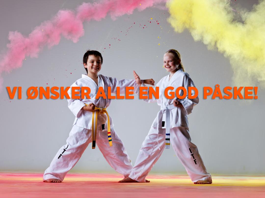 Norges Kampsportforbund ønsker alle en riktig god påske - thumbnail