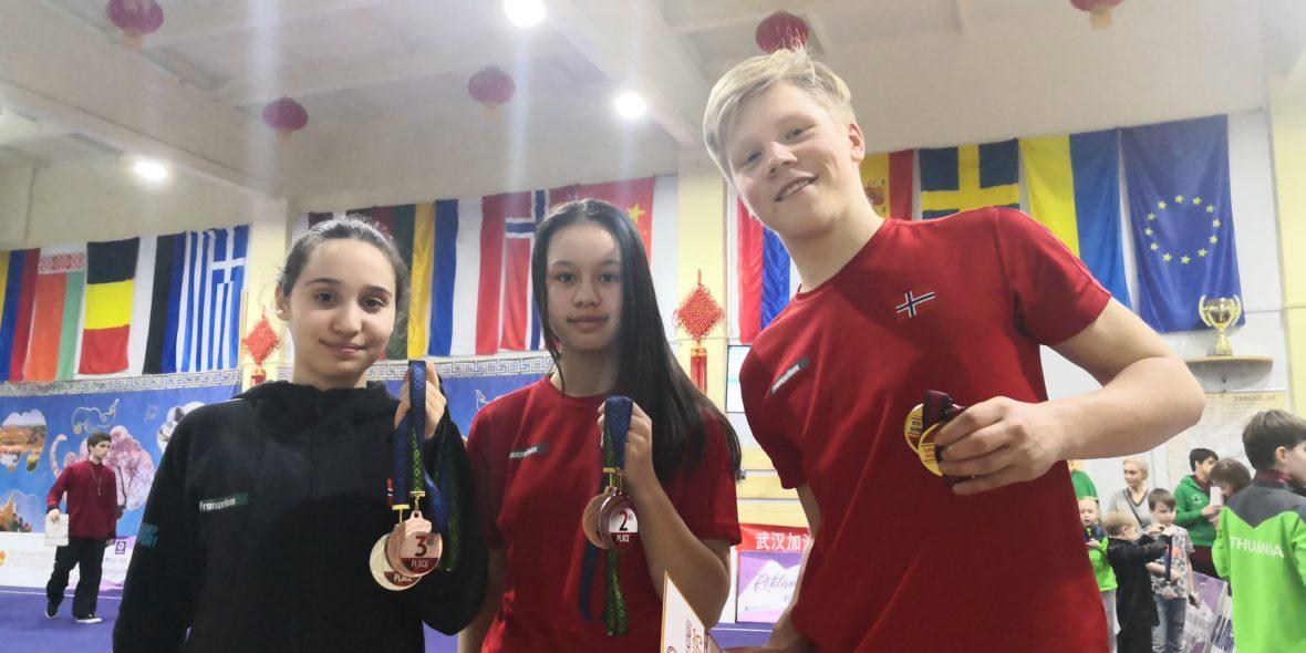 Wushu: To norske medaljer på første dag i online-EM - thumbnail